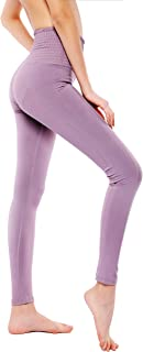 VISNXGI Workout Yoga Pants for Women High Waist Athletic Compression Ankle Length Leggings with...