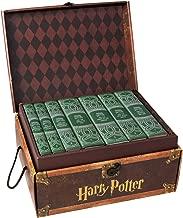 Juniper Books Harry Potter Slytherin House Trunk Set   Seven-Volume Hardcover Book Set with Custom Designed Dust Jackets   Author J.K. Rowling