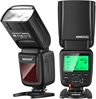 Neewer NW655 Camera Flash for Canon, GN60 Flash Compatible with Canon 7D Mark II, 6D Mark II, 5D Mark II III IV,800D,750D,...