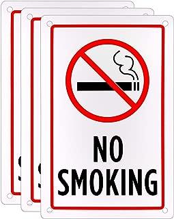 No Smoking Sign (3-Pack) – 18