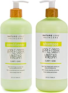 Nature Love Apple Cider Vinegar Shampoo and Conditioner Duo