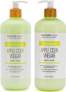 Sponsored Ad - Nature Love Apple Cider Vinegar Shampoo and Conditioner Duo