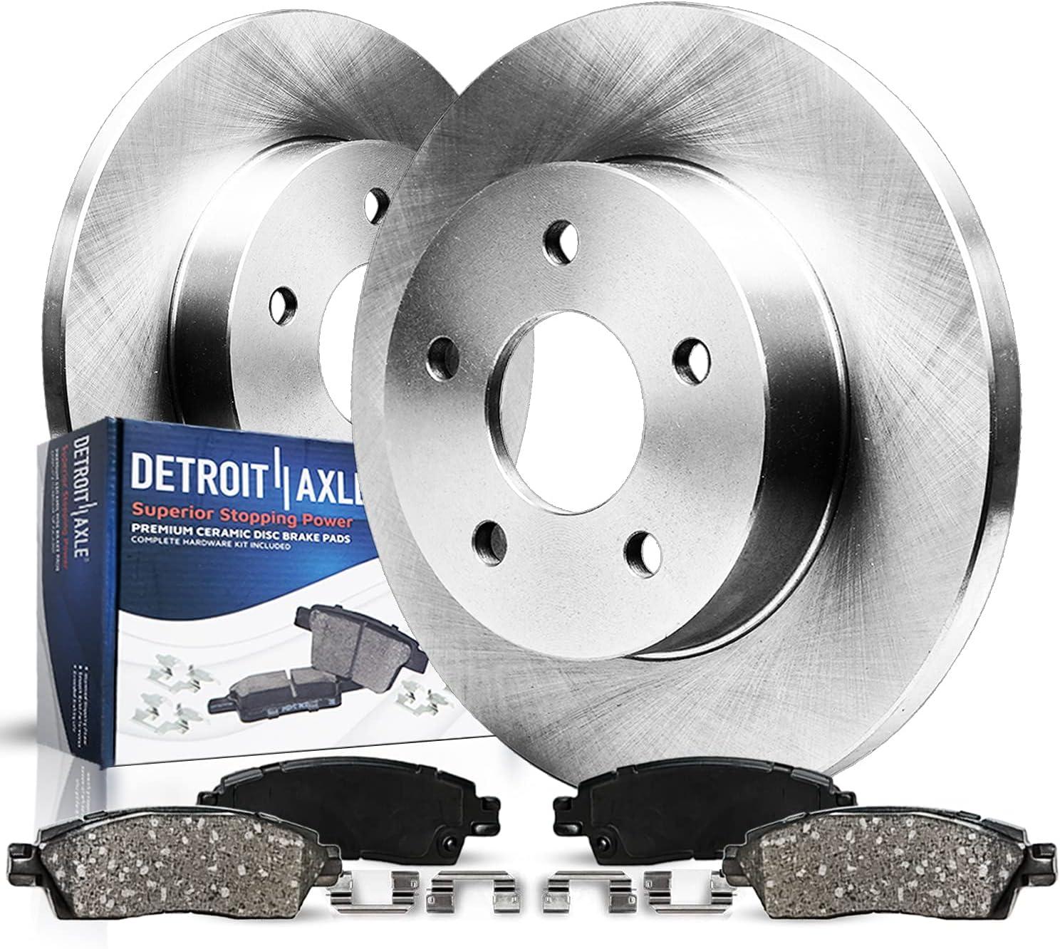 半額 Detroit Axle - 2 Rear Disc 格安店 Rotors Br Ceramic Brake and Kit