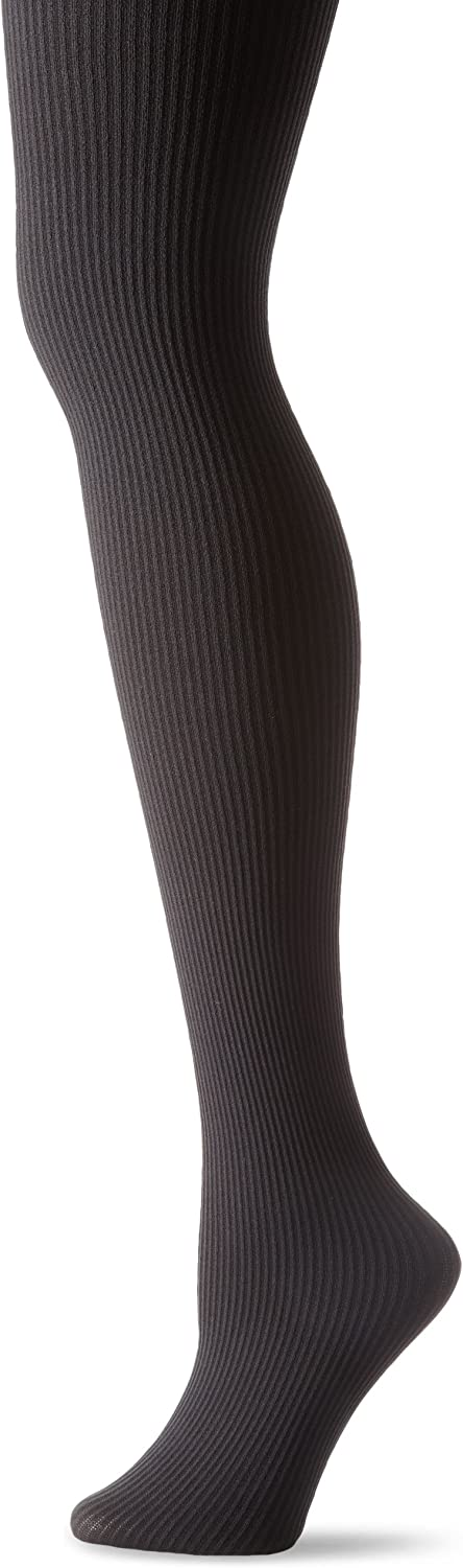 Hue Women's Classic Rib Tights with Control Top