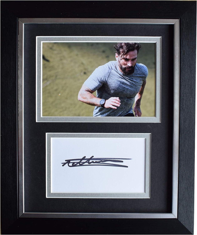 Sportagraphs LTD Ant Middleton Signed 10x8 Framed Autograph Photo Display SAS Who Dares Wins COA