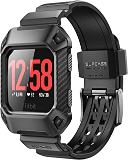 SUPCASE [Unicorn Beetle Pro] Rugged Buckle Case for Fitbit Ionic,Strap Replacement Bands for Fitbit Ionic Smartwatch
