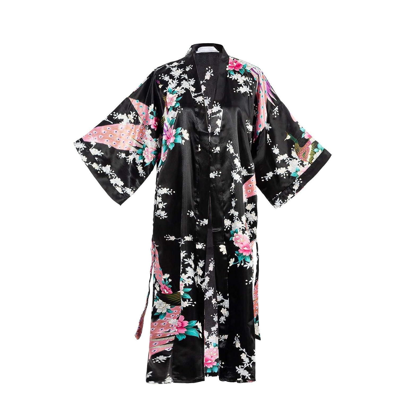 Long silver gray silk kimono authentic KOMON kimono traditional Japanese kimono for women luxury silk robes high quality