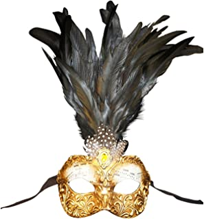 Magic of Venezia Venetian Eye Mask Colombina Capriccio Piume For Women