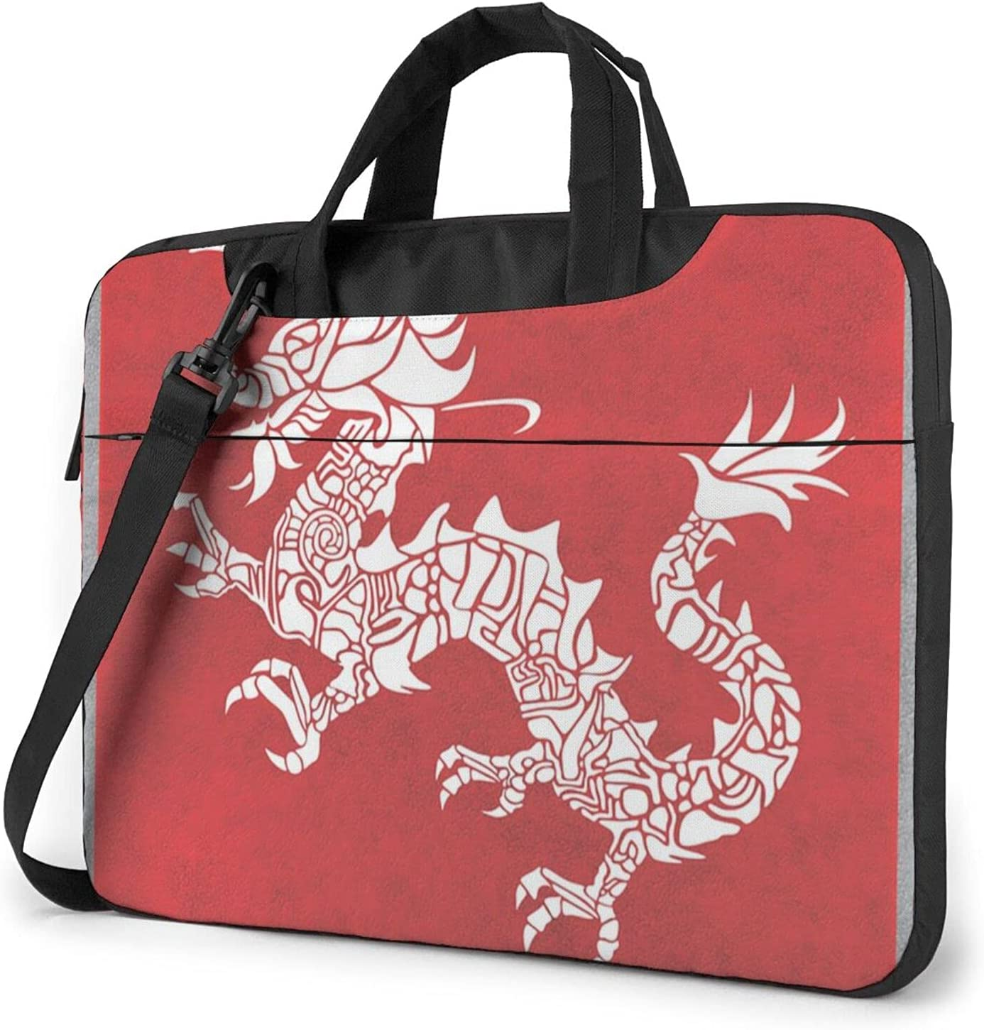 Chinese Red Don't miss the campaign Background Recommended White Dragon Briefcase Cros Classic Slim