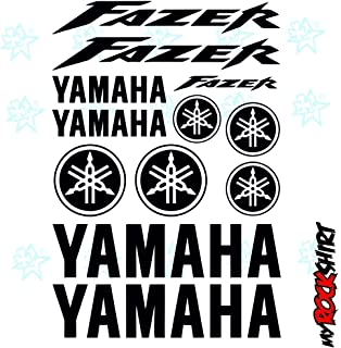 Yamaha Fazer Set 30x 20cm adhesivos Tuning Bike Moto Logotipos