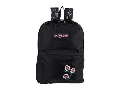 JanSport Superbreak(r) Plus FX (Enchanted Garden) Backpack Bags