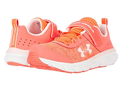 Under Armour Kids UA Assert 8 AC (Little Kid) (Beta/White/Beta Tint) Girls Shoes