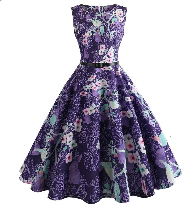 Haiyugua Women Dress Summer Fashion highend Wild Pettiskirt Dress Skirt