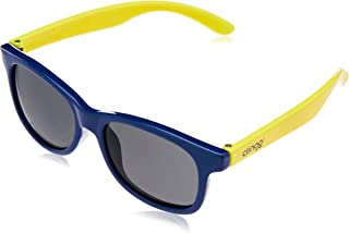 Óculos Escuros, Clingo, Azul Escuro/Amarelo