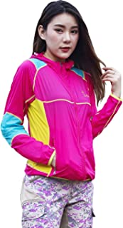 Xin Hui Bao Women's Lightweight Jacket UV Protect+Quick Dry Windproof Skin Coat