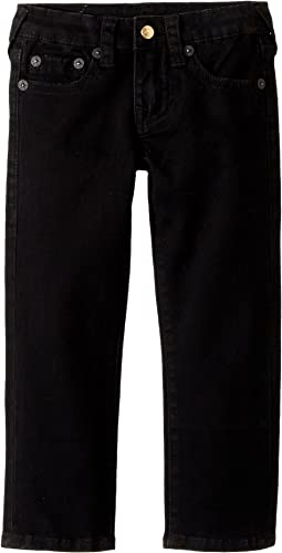 True Religion Kids - Geno Single End Jeans in Uk Black (Toddler/Little Kids)