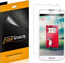 (6 Pack) Supershieldz for LG Optimus L70 Screen Protector, High Definition Clear Shield (PET)
