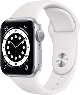 Apple MG283FD/A Apple Watch Series 6, Smartklocka, Silver, 40mm