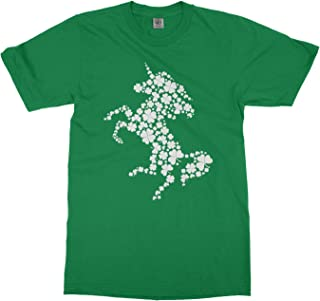 Girls Unicorn Made of Clovers St. Patrick's Day Youth T-Shirt