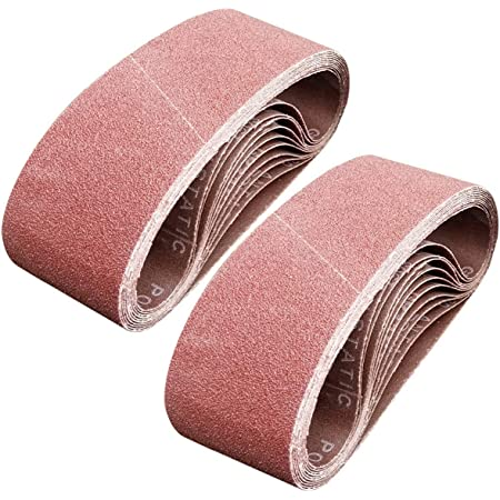 6 Each of 40 80 120 240 Grits Aluminum Oxide Abrasive Sandpaper 3 ...