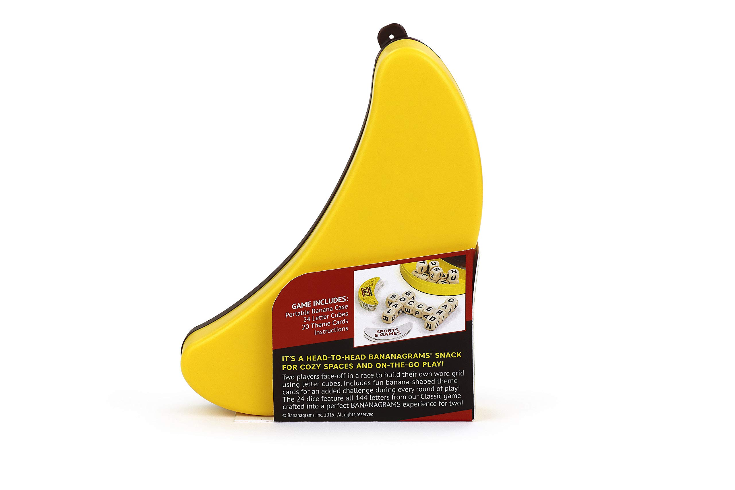 BANANAGRAMS-¡Duelo de bananagramas, colores variados (BANDUE001) , color/modelo surtido: Amazon.es: Juguetes y juegos