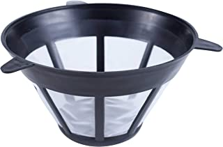 Fill & Brew Reusable Cone Coffee Filter Basket for Most Bosch, Krups a&d Melitta #4 Coffee Makers, 1-Pack