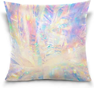 Top Carpenter Holographic Iridescent Metallic Velvet Plush Throw Pillow Cushion Case Cover - 16