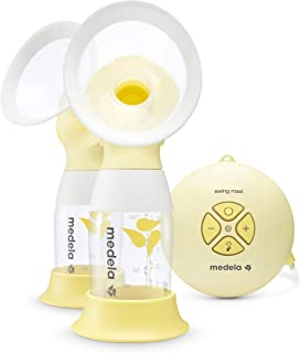 Breast Pump | Medela Swing Maxi Flex Double Electric Breast Pump | Includes Personal Fit Flex Breast Shield for Comfort | ...