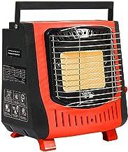 SYXZ Calentador portátil para Exteriores, Calentador de Gas de cerámica de butano, con Dispositivo de protección, para Viajes, Camping, Pesca, Interior, Exterior
