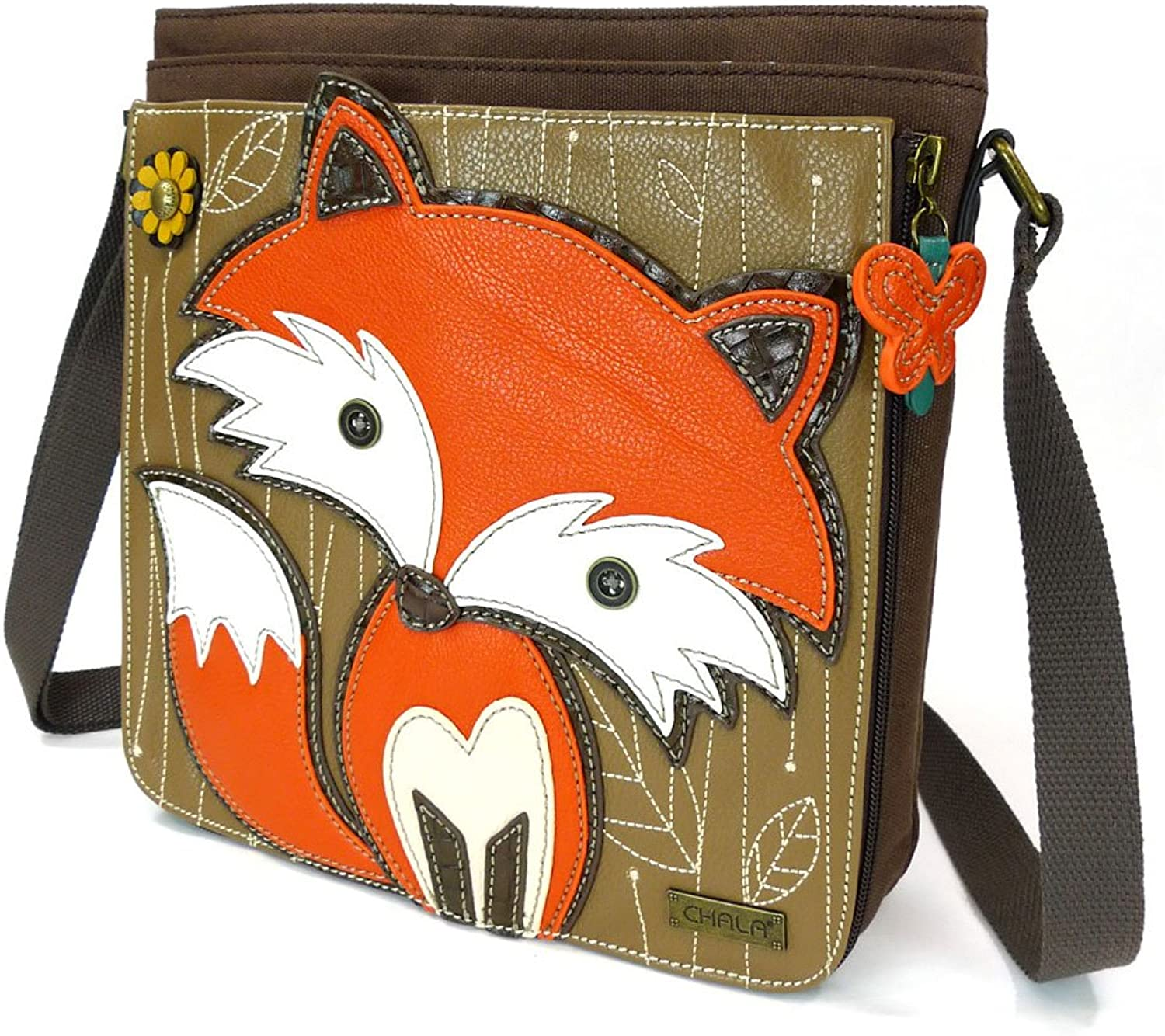 Chala FOX Deluxe Messenger Bag with Detachable Sleeve