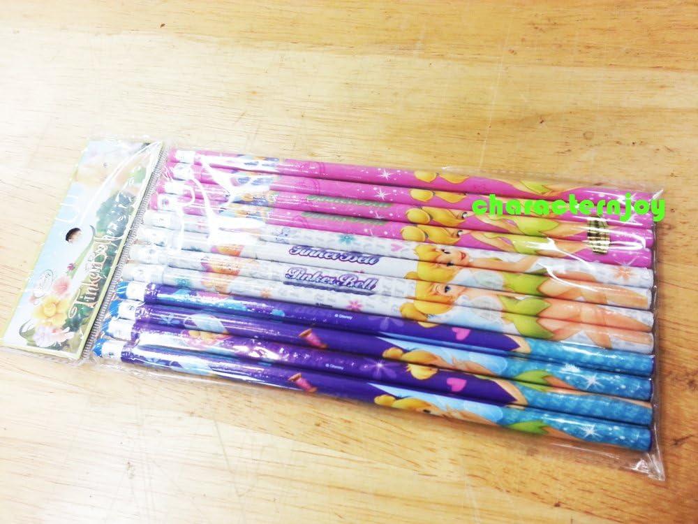 Disney Seasonal Wrap Introduction Fairies TinkerBell Limited time sale 12p pencils