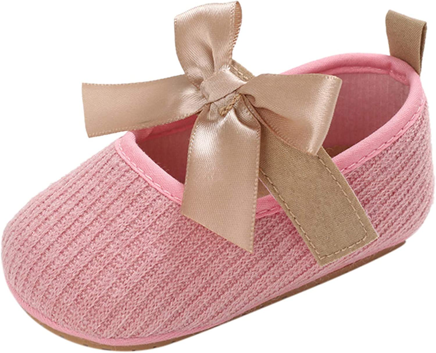Bolayu Max 90% OFF Infant Baby Girls Bowknot Sole Toddler Soft Pri Anti-Slip Super beauty product restock quality top!