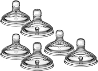 Tommee Tippee Closer to Nature Medium Flow Teats, 3 Pack - 2 Nipples