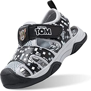 Talking Tom Boys Closed Toe Sports Sandals Summer Shoes Kids Athletic Outdoor Strap Shoes
