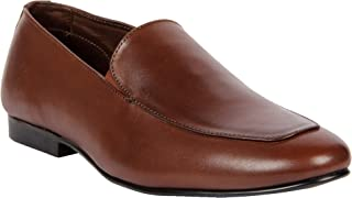 Franco Leone Brown Men's Formal Shoes
