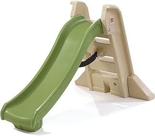 Step2 Naturally Playful Big Folding Slide, Beige and Green 844600