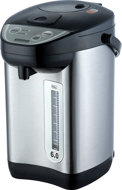 Euro Tech ET6010 6-Quart Hot Water Dispenser Ultra-Cheap Deals With Auto Urn 100% quality warranty