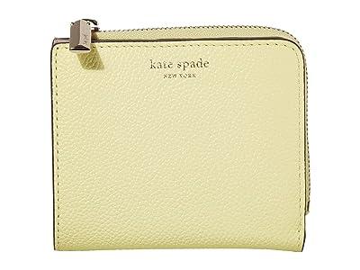 Kate Spade New York Margaux Small Bifold Wallet (Lemon Sorbet) Bi-fold Wallet