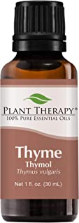 Plant Therapy Thyme Thymol Essential Oil | 100% Pure, Undiluted, Natural Aromatherapy, Therapeutic Grade | 30 Milliliter (1 Ounce)