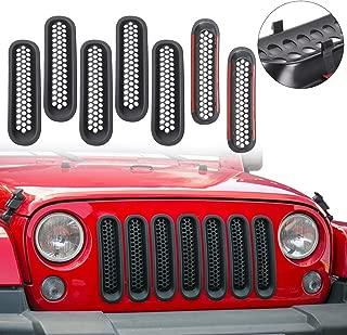 Best jeep wrangler jk grill inserts Reviews