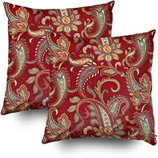 Best red and gold paisley Reviews