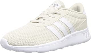 adidas LITE RACER Men's Performance Shoes, Raw White/ Cloud White/ Grey Three, 12 US