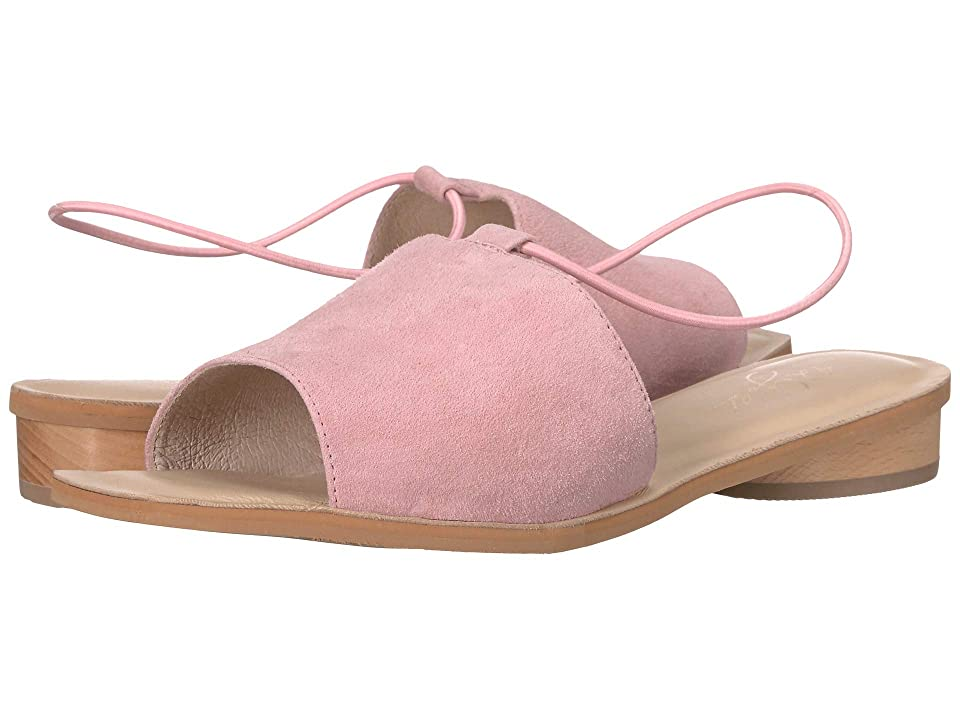 Image of 42 GOLD Belize (Pink Suede) Women's Sandals