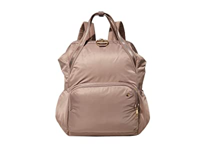 Pacsafe Citysafe CX Anti-Theft Backpack (Blush Tan) Backpack Bags