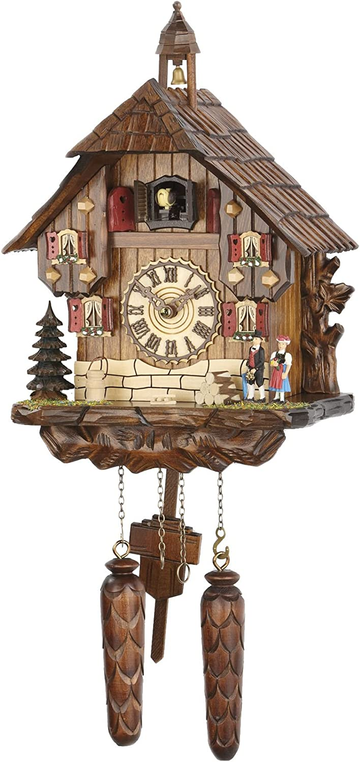 Trenkle Quartz Cuckoo Clock Black Forest Music Max 60% OFF 479 TU with House 1 year warranty
