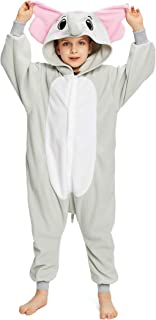 NEWCOSPLAY Unisex Children Animal Elephant Pajamas Halloween Costume