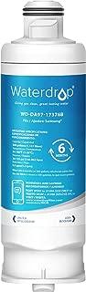 Waterdrop DA97-17376B Refrigerator Water Filter, Compatible with Samsung DA97-17376B, DA97-08006C, HAF-QIN, HAF-QIN/EXP