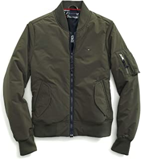 Women's Adaptive Bomber Jacket with Magnetic Zipper