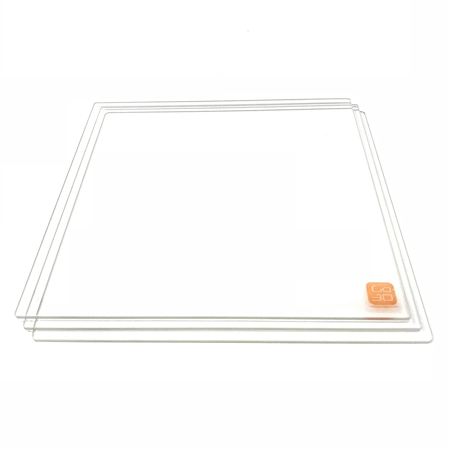 GO-3D PRINT 220mm x Challenge the lowest price of Japan Borosilicate Glass Po Plate Ranking TOP1 Bed Flat w
