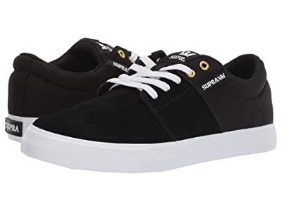 Supra Stacks Vulc II (Black/Black/White 1) Men